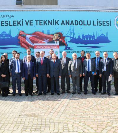 """""""Okul- Sanayi İşbirliği: İstanbul Modeli""""Ne İlk Stk Desteği Pagder'den!"""