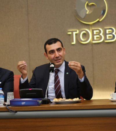 TOBB Türkiye Plastik Kauçuk Kompozit Sektör Meclisi'nin İlk Başkanı Yavuz Eroğlu oldu