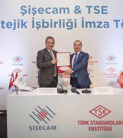 Şişecam ve TSE stratejik işbirliğiyle bir ilke imza attı