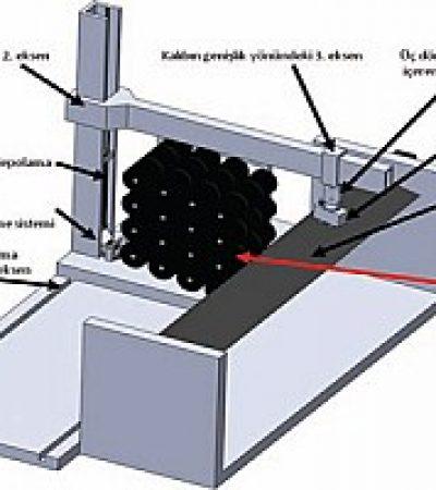 Otomatik Prepreg Üretici ve Kompozit Kaplama Makinası