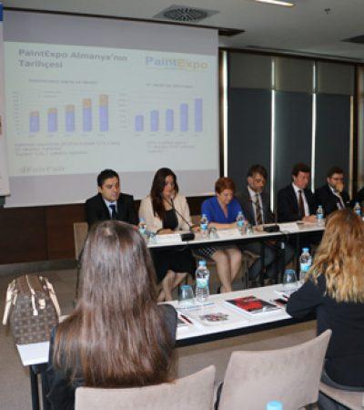 PaintExpo Eurasia Fuarı ve STT Eurasia Fuarı Ekim'de İstanbul'da