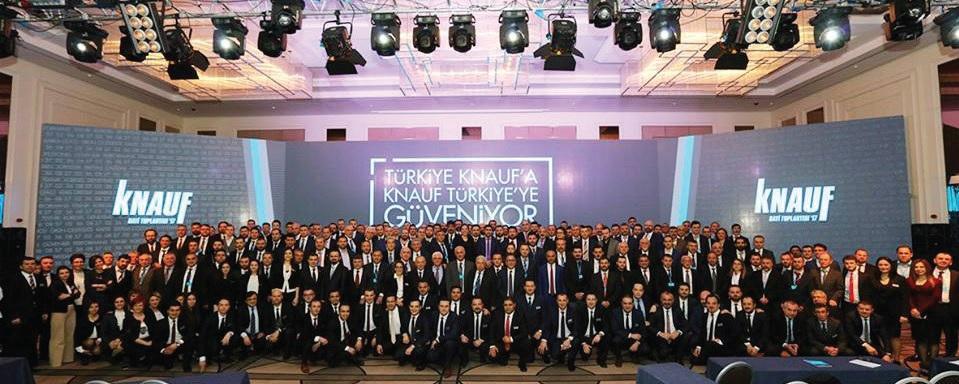Türkiye Knauf'a Knauf Türkiye'ye Güveniyor Knauf'tan Türkiye'ye Yeni Yatırım