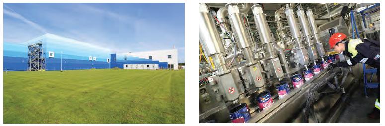 AkzoNobel Dünyanın En Gelişmiş ve Sürdürülebilir Boya Fabrikasını Açtı