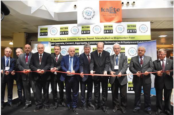 Beton 2017 Kongresi ve Fuarı, Hazır Beton, Çimento, Agrega ve İnşaat Sektörlerini İstanbul'da Bir Araya Getirdi