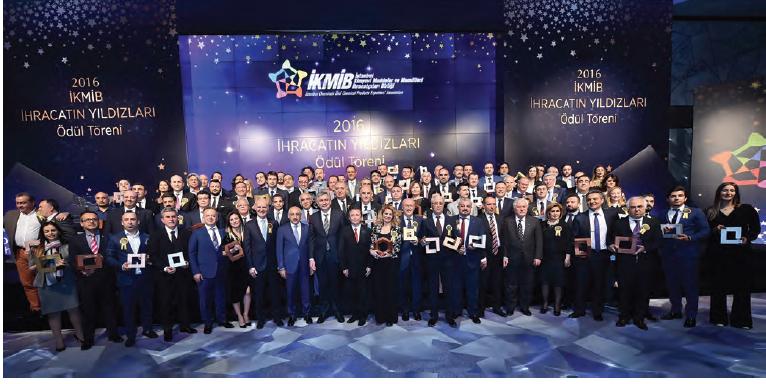 İKMİB Kimya İhracatının Şampiyonlarını Ödüllendirdi