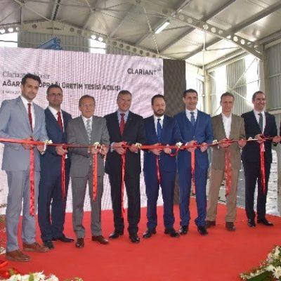 Clariant Türkiye'de Ağartma Toprağı Üretim Tesisi Açtı