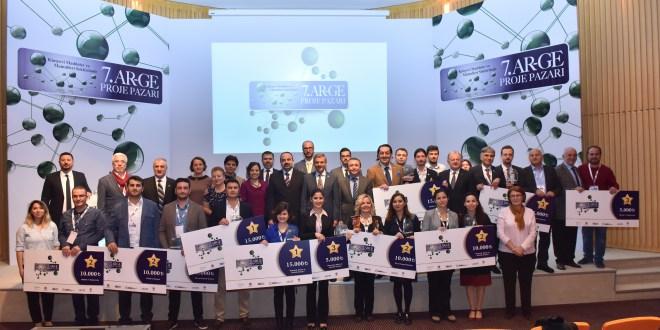 7. Kimyevi Maddeler ve Mamulleri Ar-Ge Proje Pazar'ı Ödülleri Sahiplerini Buldu