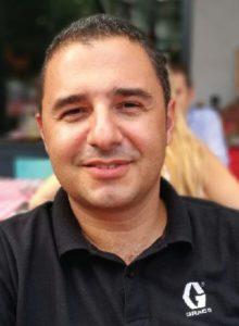 Graco firmasında Endüstriyel Ürünler Birimi, İş Geliştirme Uzmanı olarak görev yapan Sayın Erbil Zerenler ile bir söyleşi gerçekleştirdik.