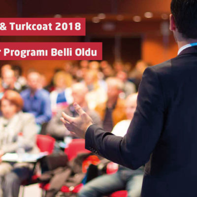 paintistanbul & Turkcoat 2018 Konferans Programı Belli Oldu