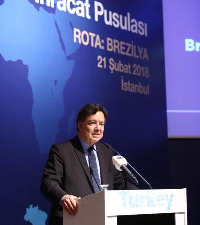 Brezilya'dan Türkiye'ye ortaklık çağrısı
