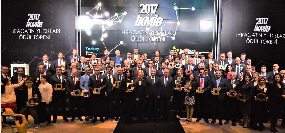 İKMİB, Kimya İhracatının Yıldızlarını Ödüllendirdi