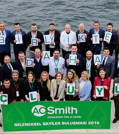 A.O Smith Türkiye Bayileri ''Birlikte Daha Güçlüyüz'' Demek için Bir Araya Geldi
