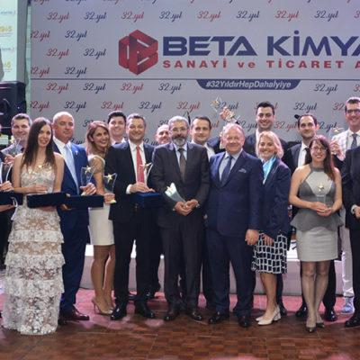BETA Kimya 32. Yaşını Çalışanlarıyla Kutladı