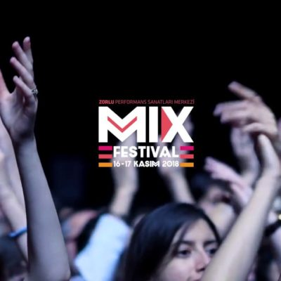 Çok Sesli Festival 'MIX' Bu Yıl da, Zorlu PSM'yi Dans Pistine Çeviriyor