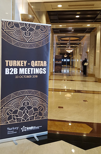 İKMİB, Türk Kimya Sektörünü İkinci Kez Katar İş Dünyası ile Buluşturdu