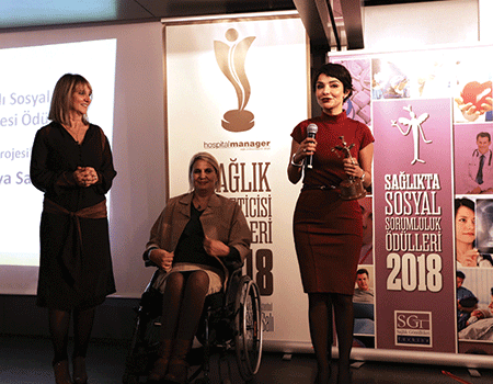 Berko İlaç Sağlıkta Sosyal Sorumluluk Ödülüne Layık Görüldü