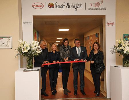 Keşif Dünyası'nın Türkiye'deki İlk Merkezi Henkel Tarafından Darüşşafaka'da Açıldı