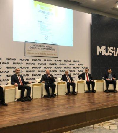 Türkiye İlaç Sanayi Stratejisi Toplantısı'nda İlaç Sektörünün Geleceği Konuşuldu