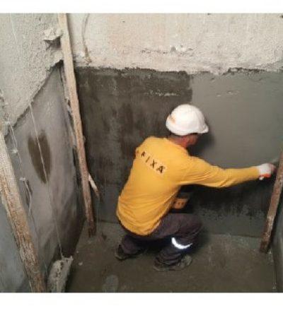 Asansör Çukurlarının Su Yalıtımı