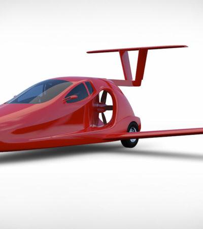 Samson Switchblade Karbon Fiber Uçan Araba Görücüye Çıkıyor