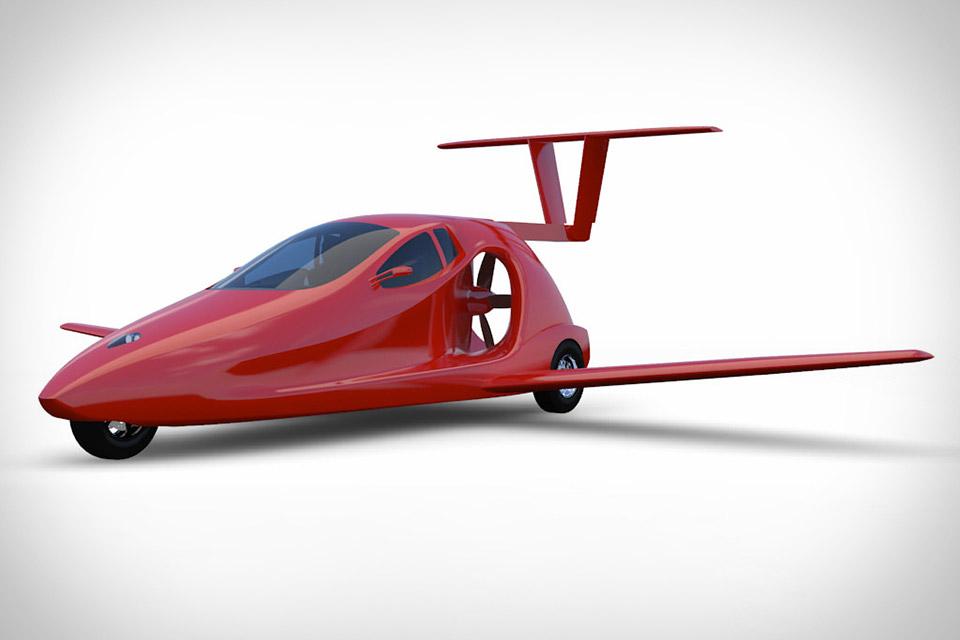 Samson Switchblade Carbon Fiber Flying Car Debuts Transforming Tail