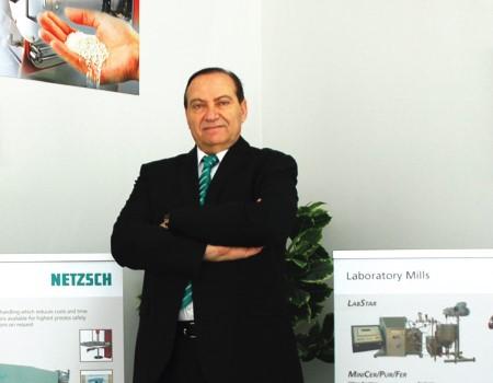 Netzsch Türkiye Genel Müdürü Sayın Hayri Ünal