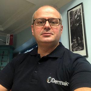Dermak Makina'nın Genel Müdürü Sayın Murat Dereli