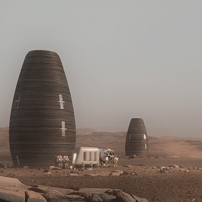 Living on Mars Concept Takes Shape