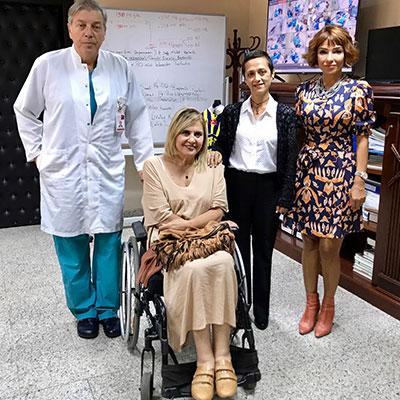 Berko İlaç Hasta Lifti Bağışında Bulundu