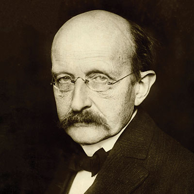 Father of the Quantum Theory: ''Max Planck''