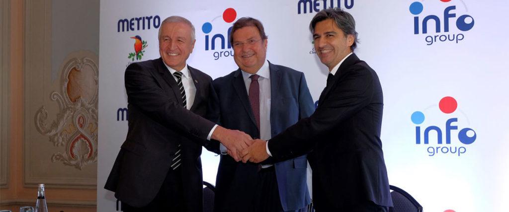 Metito ile Türk Kimya Şirketi Info Grup Ortaklığa İmza Attı