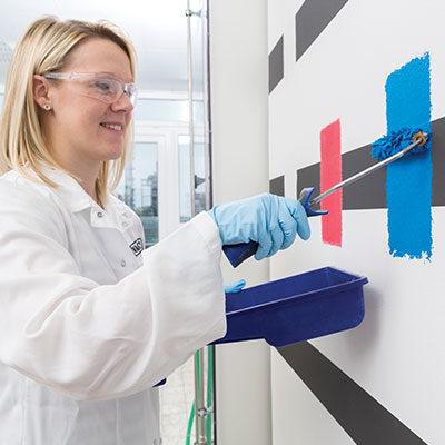 Biyosit İçermeyen Duvar Boyaları için Disperse Olabilen Toz Polimerler