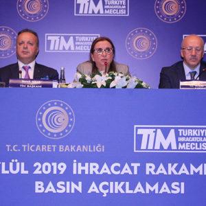 Türkiye İhracatçılar Meclisi (TİM), Eylül Ayı İhracat Rakamlarını Mersin'de Açıkladı