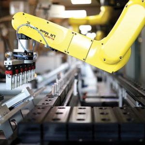 Erkul Kozmetik FANUC Robotu Kullanıyor