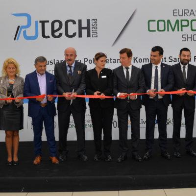 Putech Eurasia ve Eurasian Composites Show Fuarları Açıldı