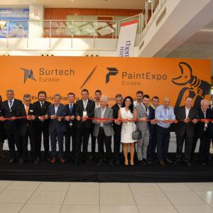 PAINTEXPO EURASIA 2019 ve SURTECH EURASIA 2019 Fuarı Açıldı