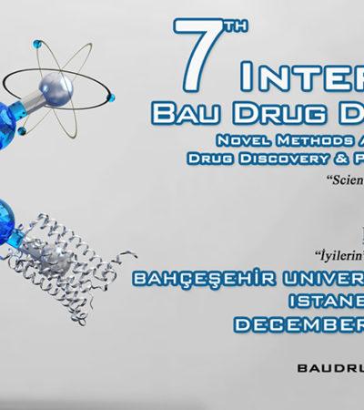 7. Uluslararası BAU İlaç Tasarım Kongresi 19-21 Aralık Tarihlerinde Gerçekleşecek