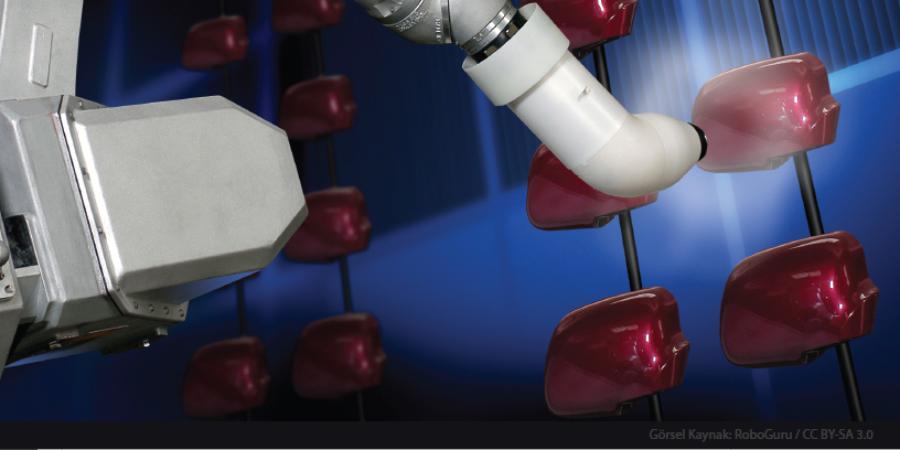 Boyama İşlemlerinde Robot Kullanımı