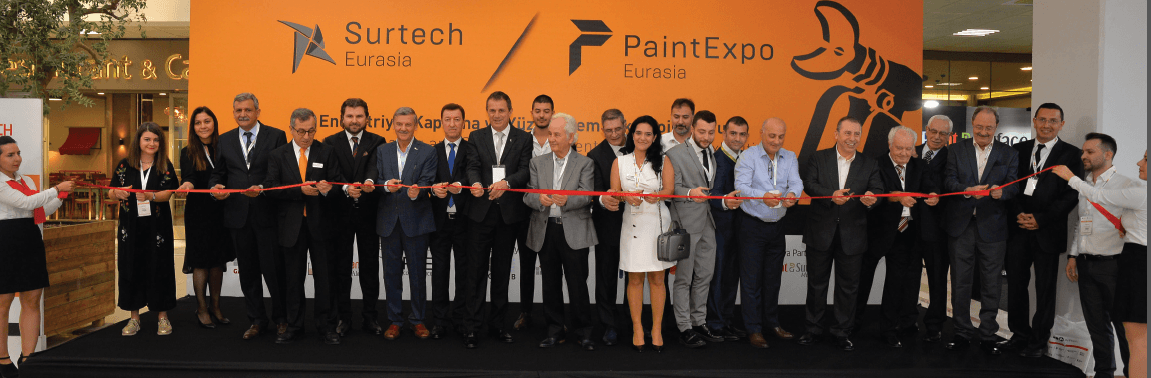 PaintExpo Eurasia 2019 and Surtech Eurasia 2019 Brought Industry Leaders Together