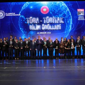 """2019 """"TÜBA Ödülleri"""" Töreni Gerçekleşti"""