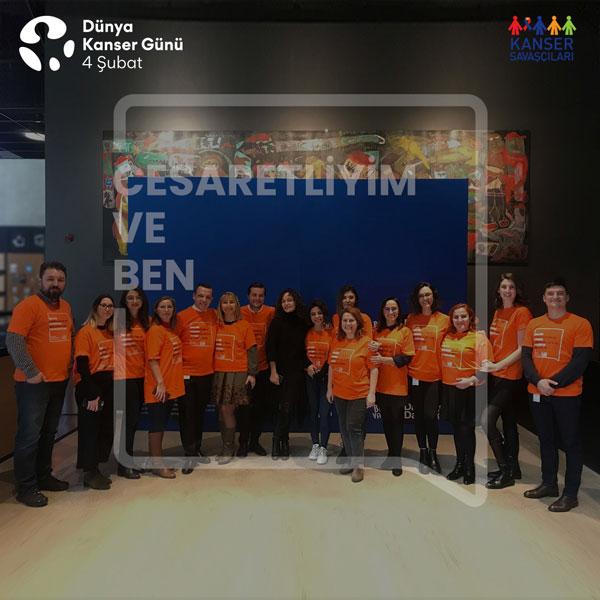 Merck Türkiye çalışanları