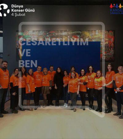 """Merck Türkiye'den Kansere Karşı """"Cesur Ol"""" Çağrısı"""