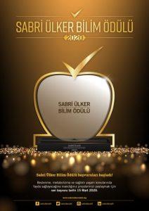 sabri ülker bilim ödülü afişi