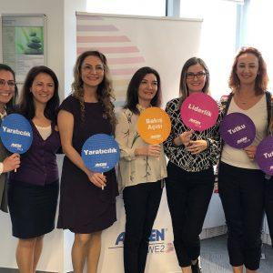 """Amgen """"Sıra Dışı Kadınlar Liderlik Programı""""nı Başlatıyor"""