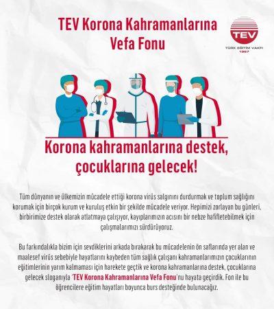 Türk Eğitim Vakfı'ndan Örnek Davranış