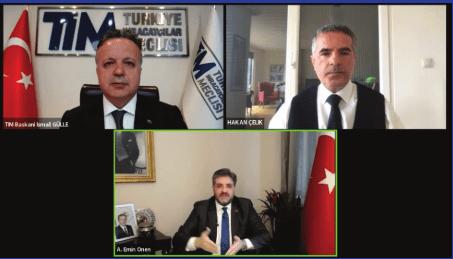 """""""TİM Export Talks"""" Online Panelleri Covid-19 Süreci ve Sonrası için Çözüm Üretecek"""