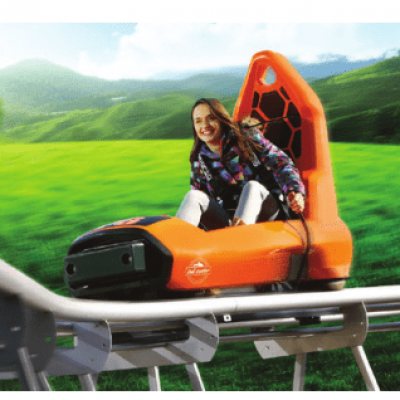 A New Perspective in the Entertainment Sector Composite Body Mountain Coaster Cars