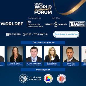 World E- Commerce Forum Bu Yıl Online Gerçekleşecek
