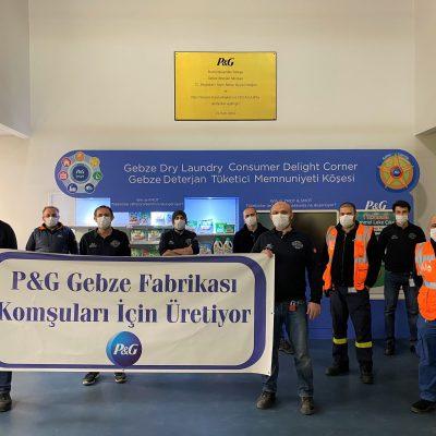 P&G Gebze Fabrikası Komşularına Bağışta Bulundu