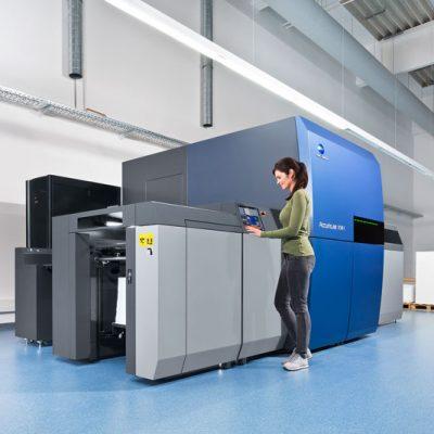 Imprimerie Baron & Fils, AccurioJet KM-1 ile Baskı Kapasitesini Artırdı